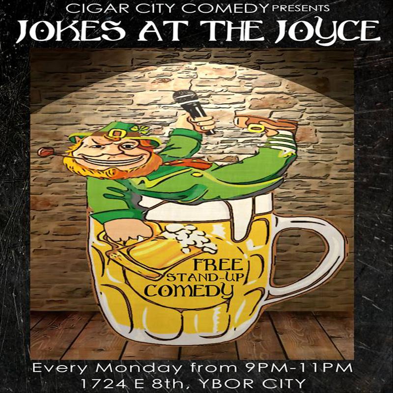 Jokes at the Joyce - Open Mic (Mondays)