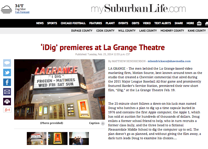 Read about the film premier