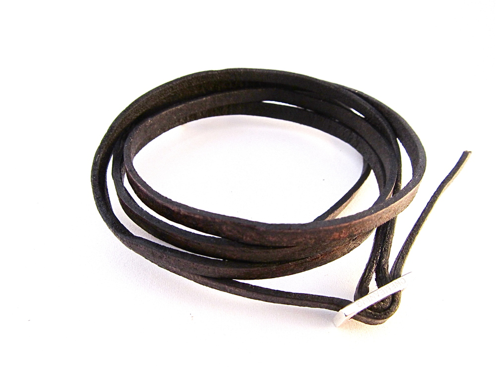 Dark brown band with silver.JPG