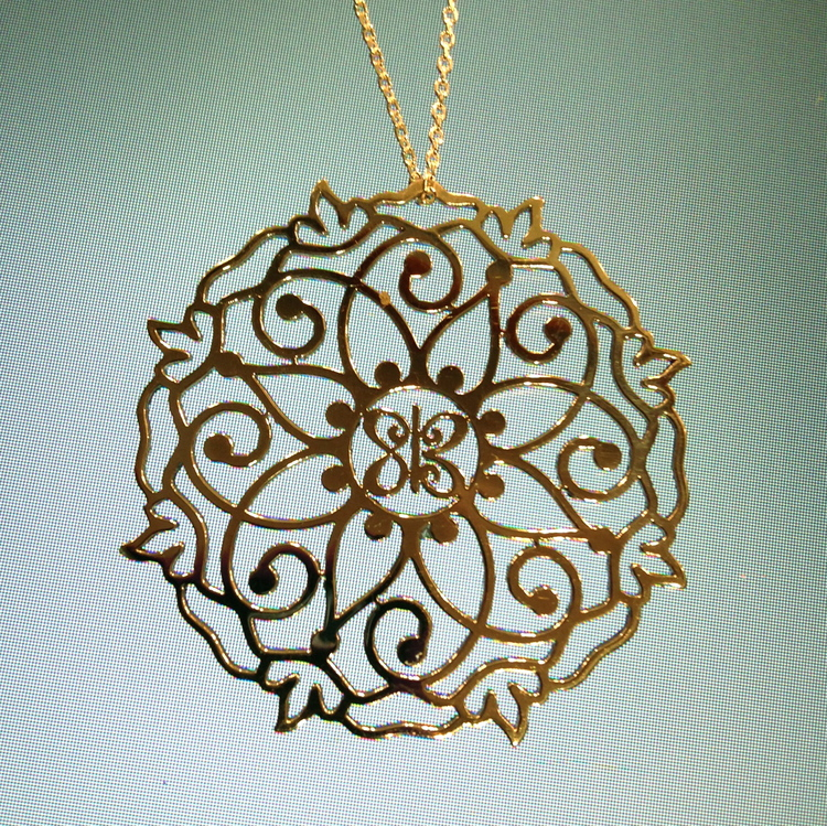 mandala store product products psychedelic pendant guleria necklace image