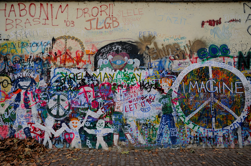 The John Lennon Wall — ONE MEANING
