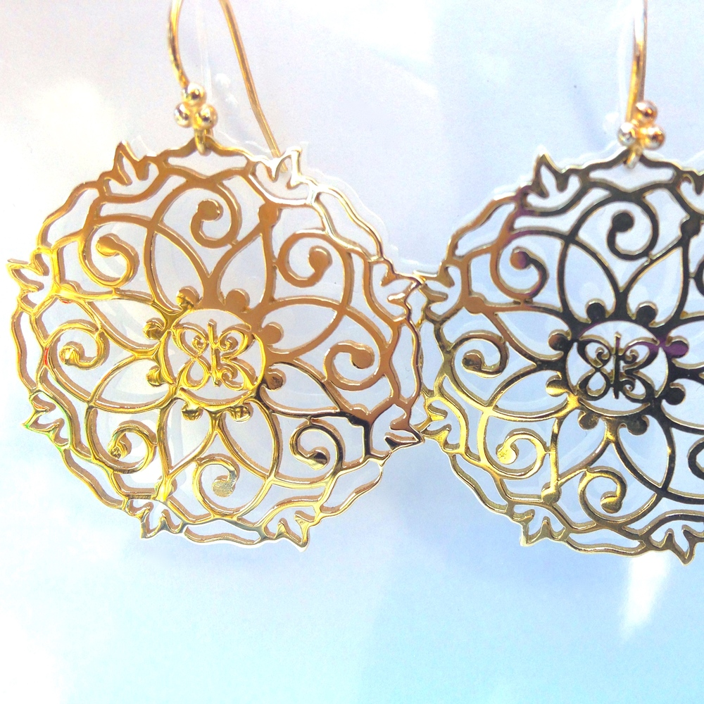 Manadala Earrings - Gold.jpg