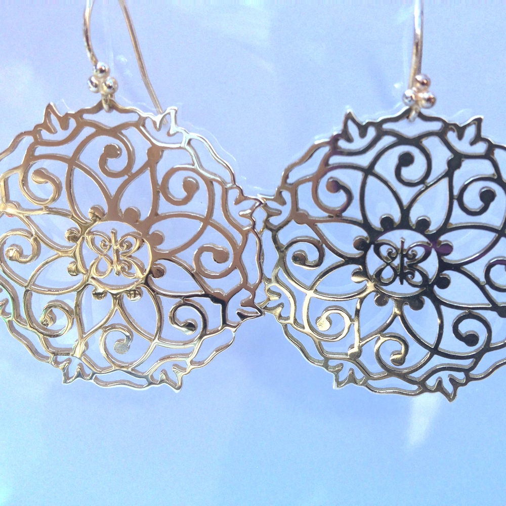 Mandala Earrings - Silver.JPG