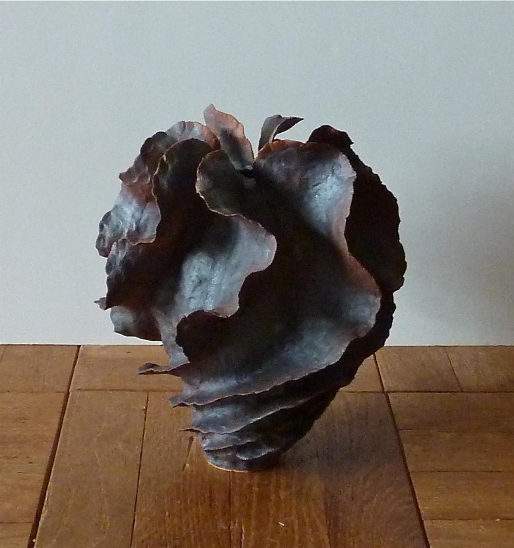 Wavy spiral oxide form