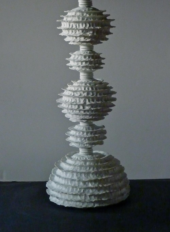 Raw Porcelain lamp, v.1