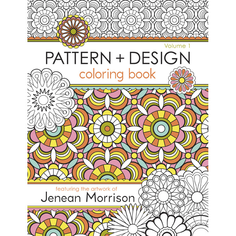 Pattern And Design Coloring Book Jenean Morrison Art Design Custom Patterns And Designs