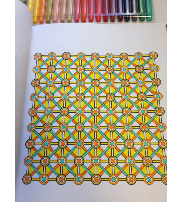 Pattern And Design Coloring Book Jenean Morrison Art