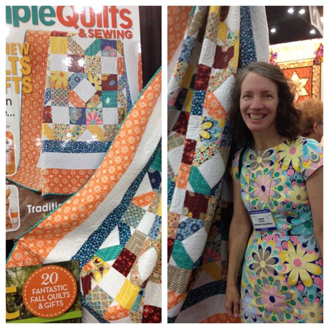 Jenean Morrison Quilt Market, Grand Hotel fabrics.