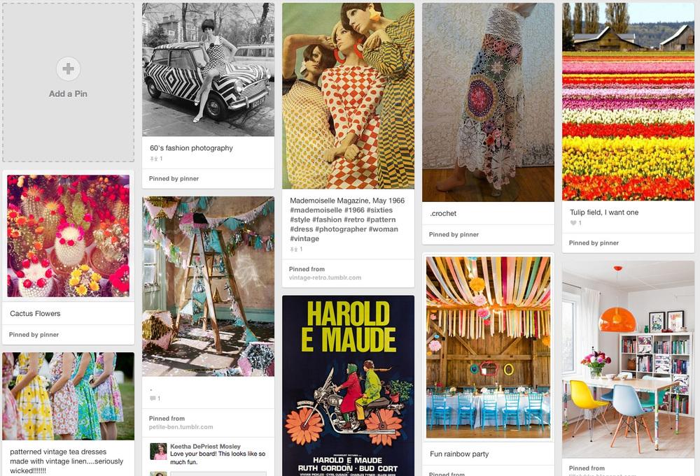 Pinterest board-- Jenean Morrison