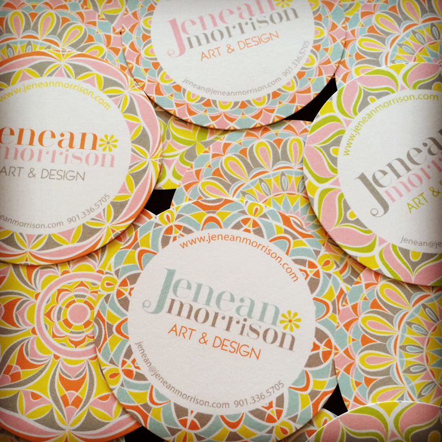 Jenean Morrison business cards