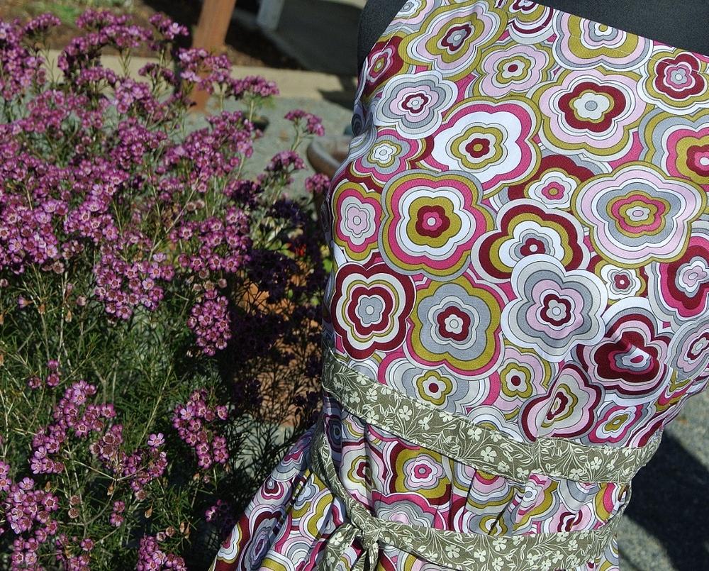 Dress in Lovelorn Fabrics by Jenean Morrison.