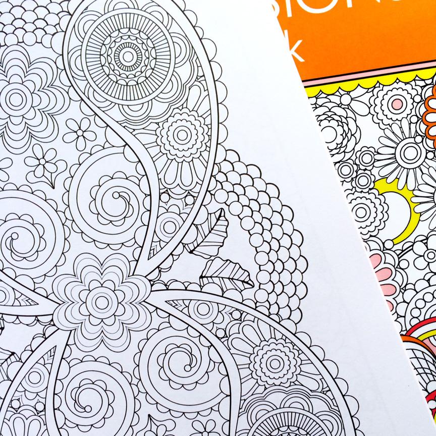 Раскраска для дизайнера