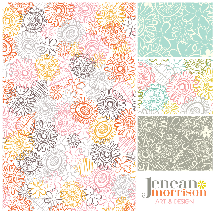 Early Morning Patterns by Jenean Morrison