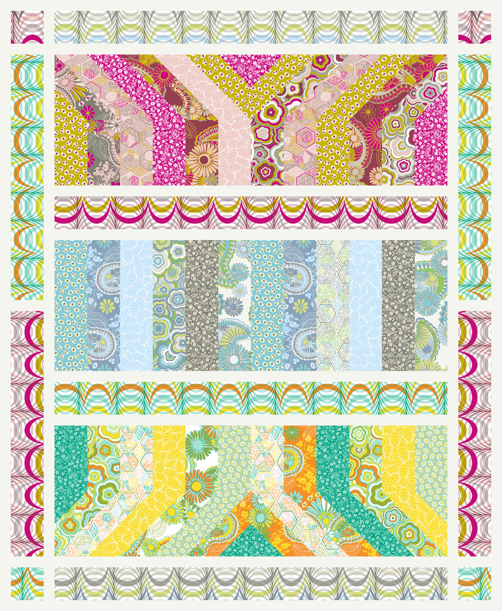 Lovelorn Quilt Pattern by Jenean Morrison