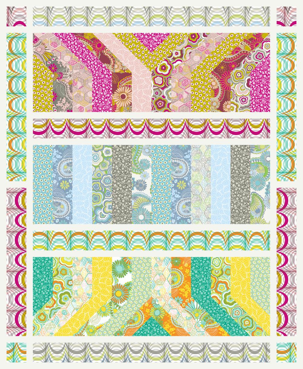 Lovelorn Quilt Pattern by Jenean Morrison