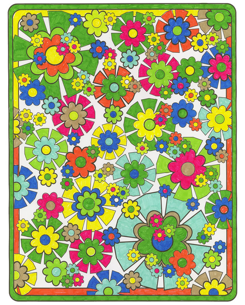 Pattern And Design Coloring Book Volume 2