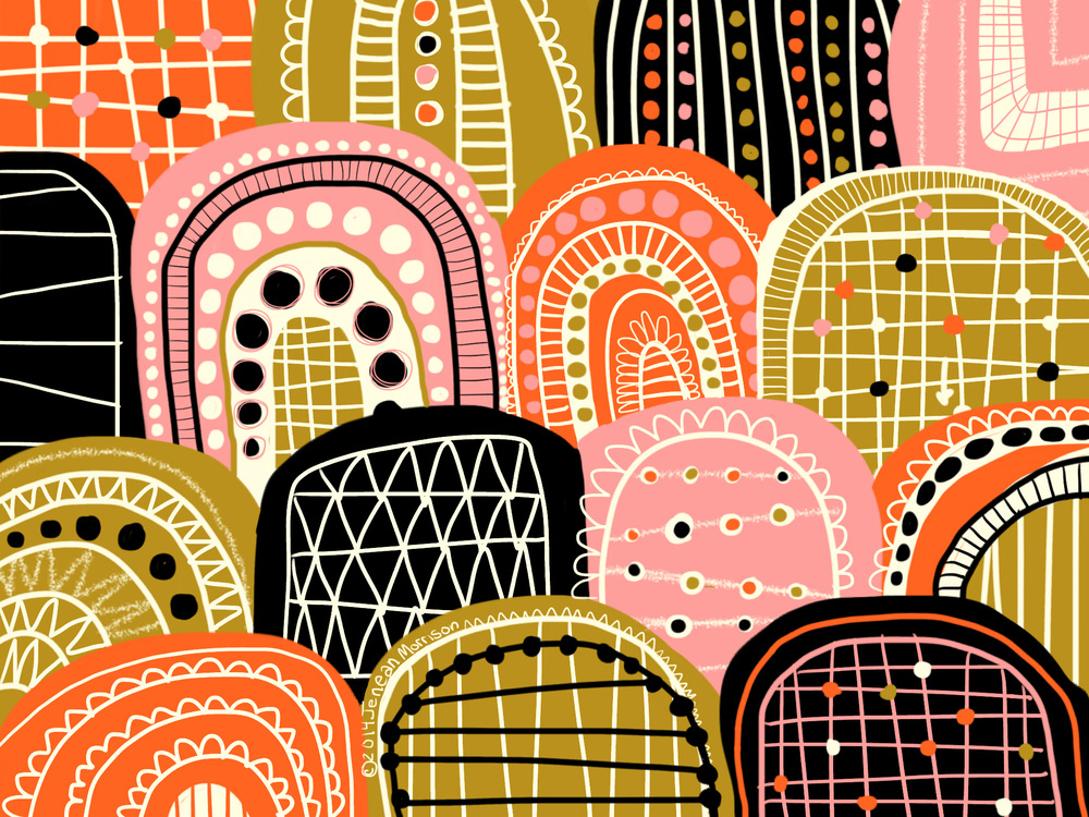 Jenean Morrison, iPad Air, Adobe Line and Adobe Ink, 2014.