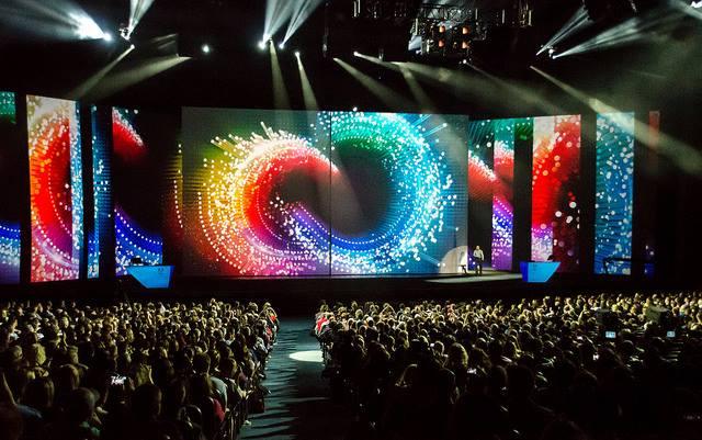 Photo via AdobeMAX facebook page.