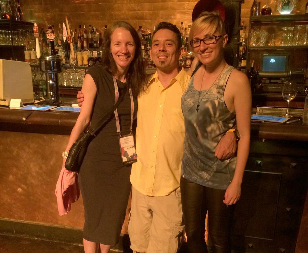 Jenean, Orlando, Rachel at AdobeMAX 2014