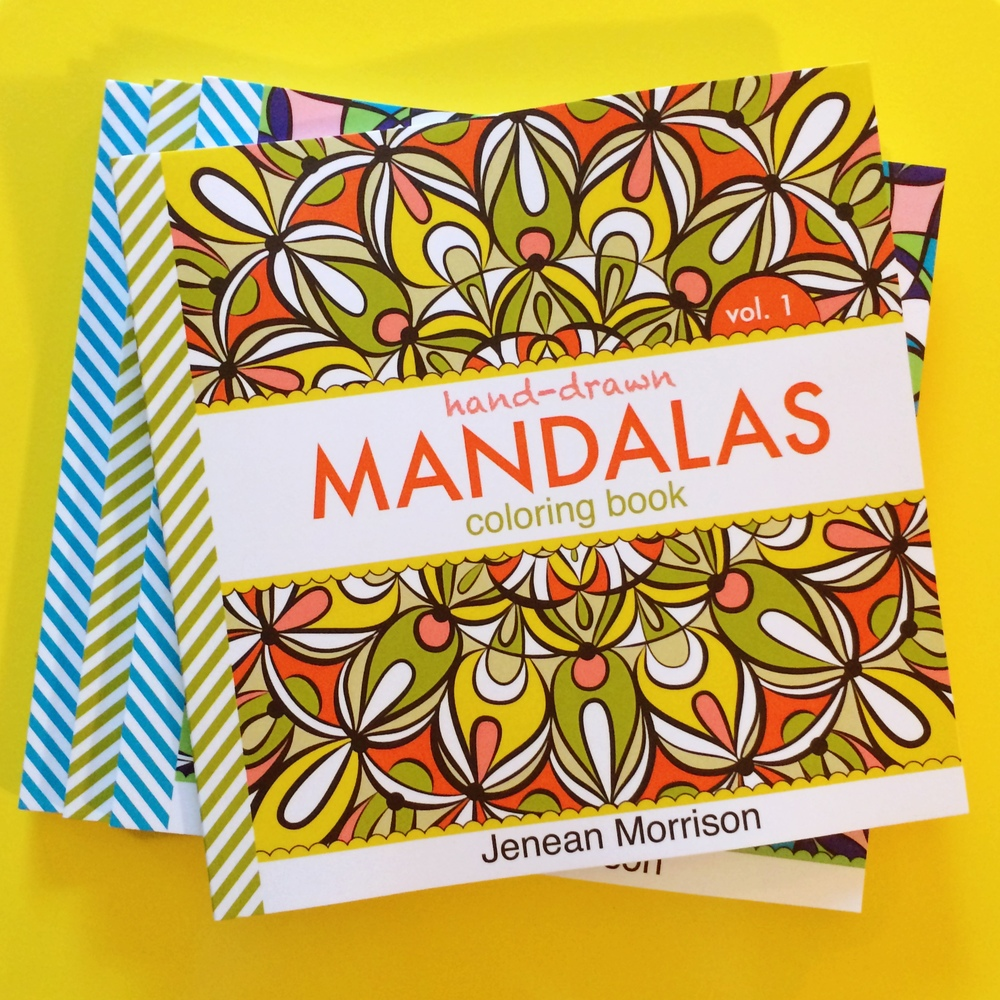 Hand-Drawn Mandalas, Volumes 1 & 2 by Jenean Morrison