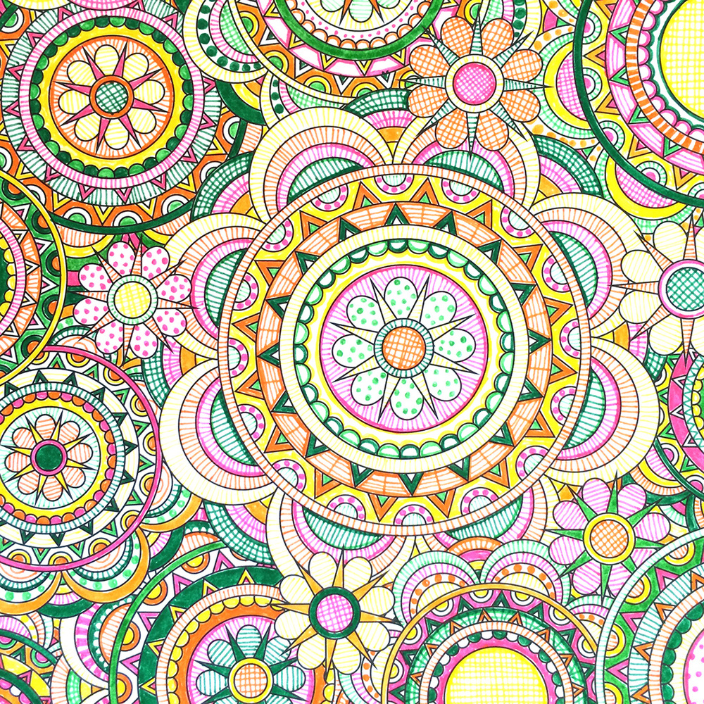 Whimsical designs coloring book - Flower Designs Coloring Book Jenean Morrison Bonjour Coloristes Jenean Morrison Art Design