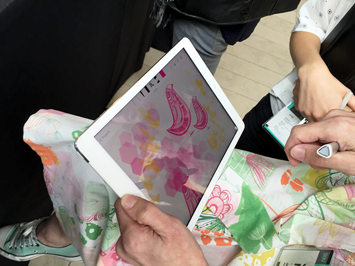 Great blog post from Adobe on my time at the 99U Conference and my work using their mobile apps! Designed All in Mobile: From iPad to Whimsical Fabrics.