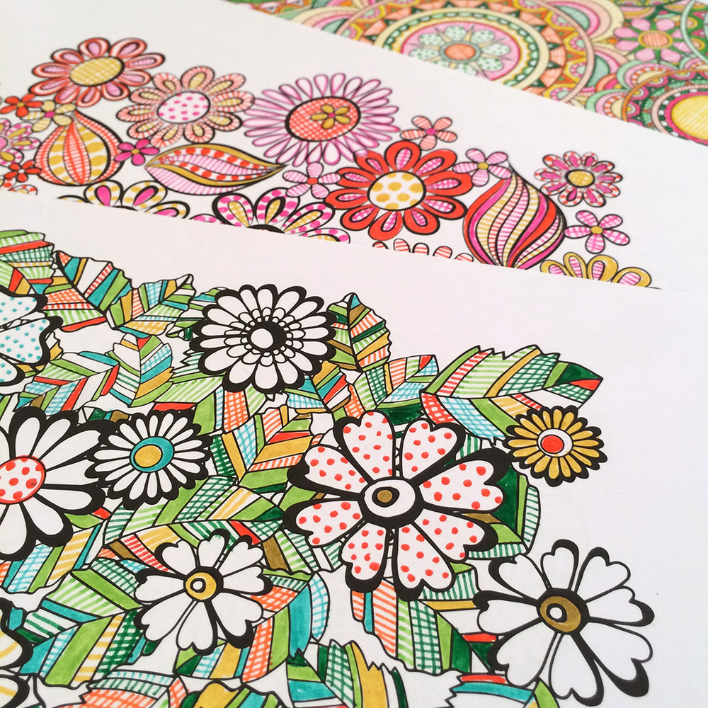 Adult Coloring Tips Jenean Morrison Art Design