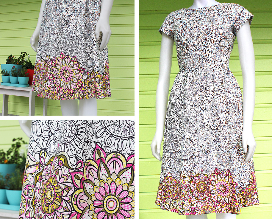 Jenean Morrison Fabric and Dress