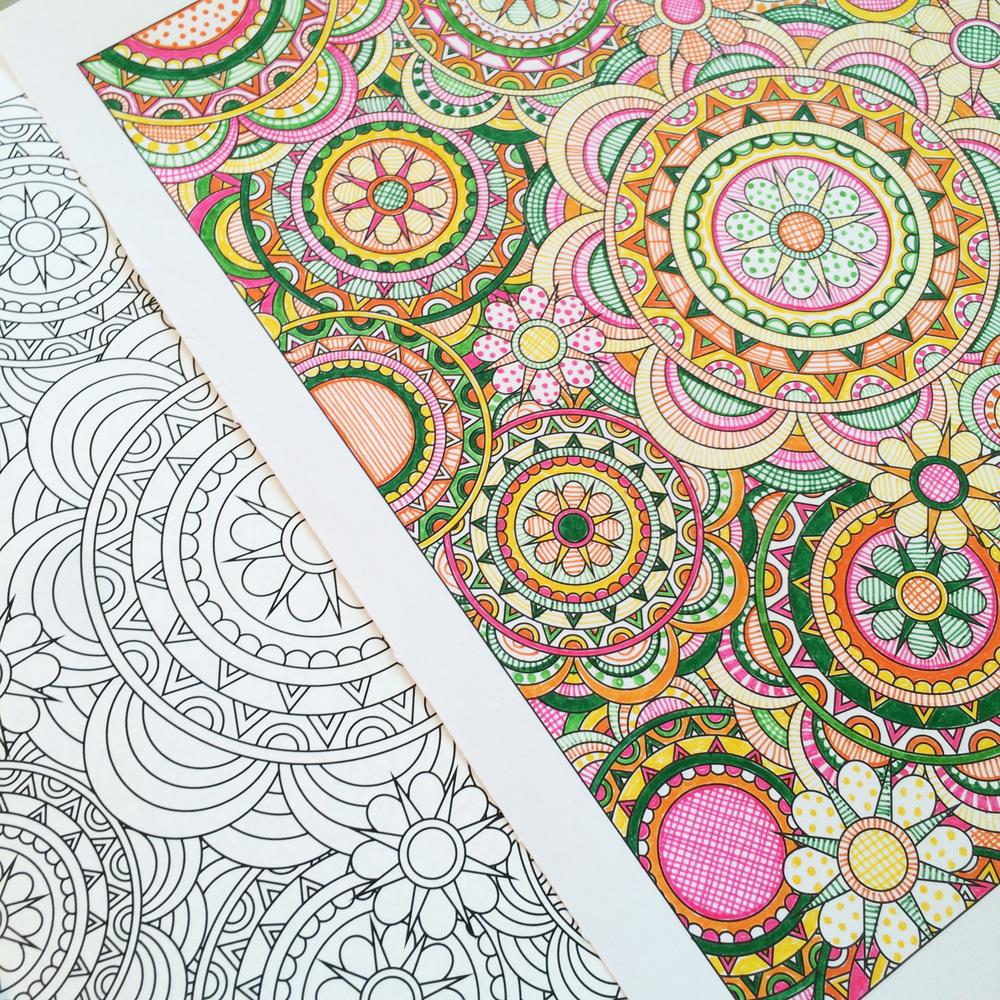 Coloring gallery jenean morrison art design Coloring book artist