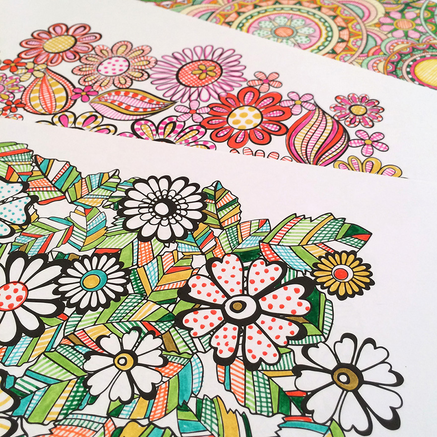 Coloring Gallery Jenean Morrison Art Amp Design