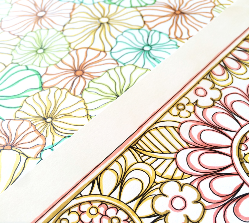 Jenean Morrison Flower Designs Coloring Book