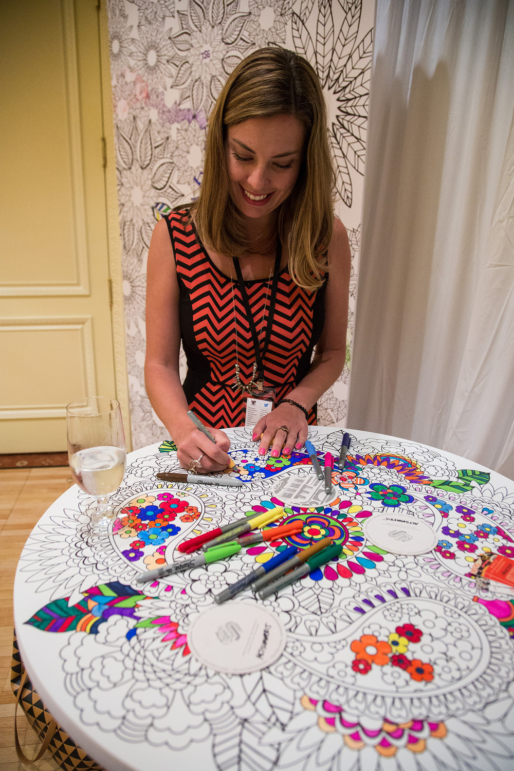 Alt Summer 2015 Squarespace Lounge featuring Artwork by Jenean Morrison.   photo credit:  Alt Summit