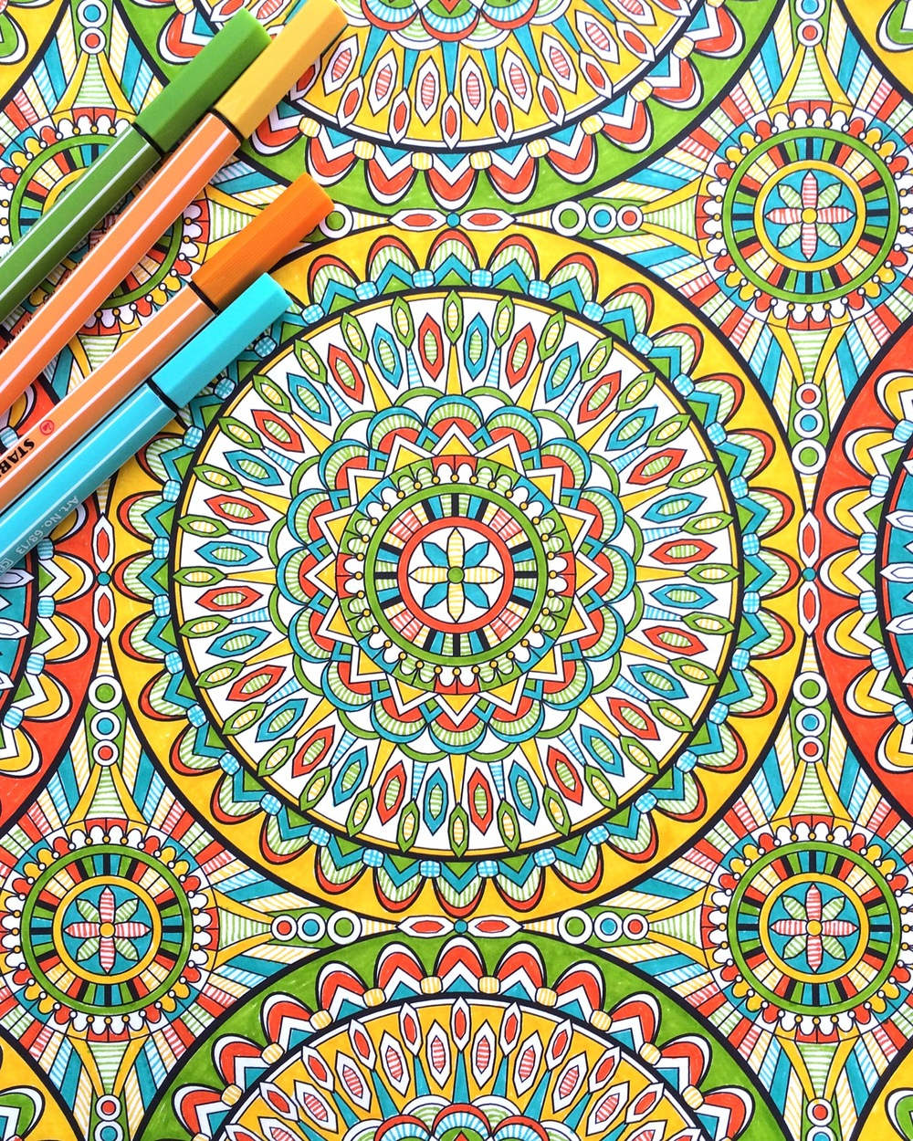 Super Awesome Coloring Book by Mark Cesarik, edited by Jenean Morrison