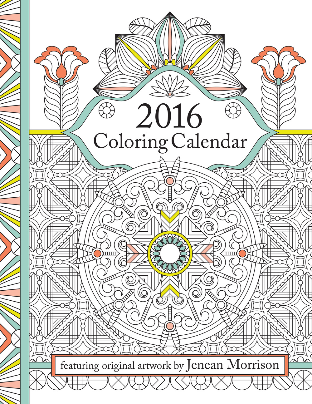 coloring calendars sector pages - photo#35