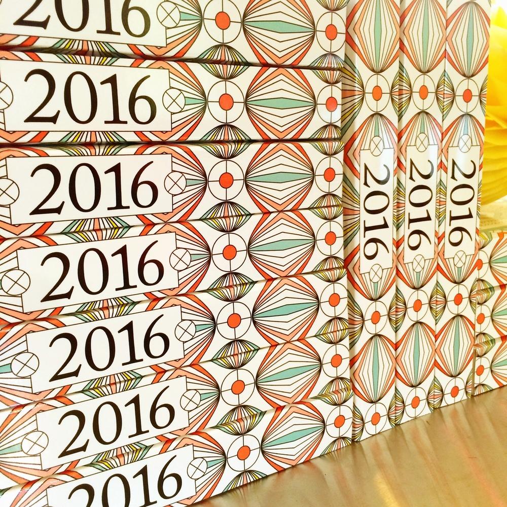 2016 Coloring Calendar by Jenean Morrison
