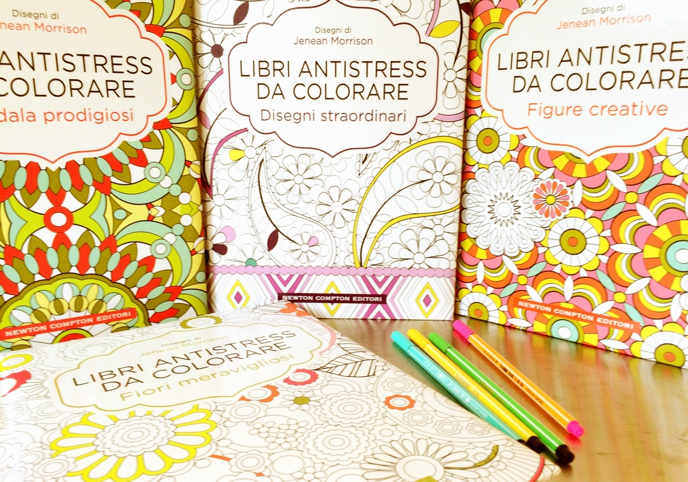 Jenean Morrison Coloring Books for Newton Compton Editori