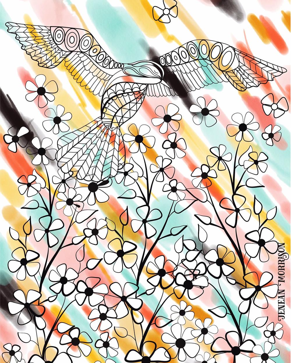 Jenean Morrison iPad Artwork 2016