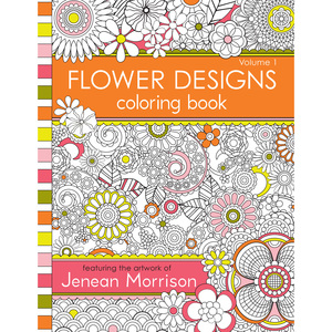 Flower Designs Coloring Book Volume 2 FlowerDesignsv1