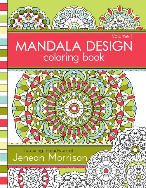 Mandala Design Coloring Book Volume 1 Jenean Morrison Art