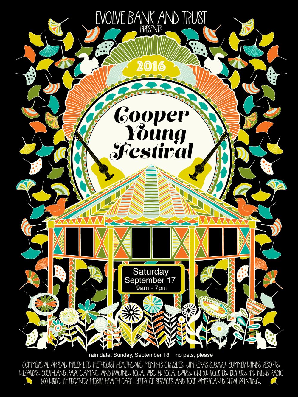 CYFestival 2016 Poster Work in Progress, Jenean Morrison
