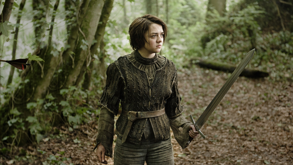 Arya from the Game of Thrones.