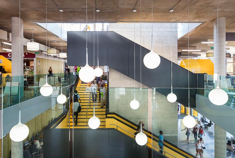 Coventry University Hub byHawkins\Brown. Photo by Tim Crocker