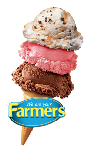 We've got a   Farmers Ice Cream Party Pack   worth $50. Farmers is also donating an incredibly generous amount of food, yogurt, drinks for our BBQ. Thank you!