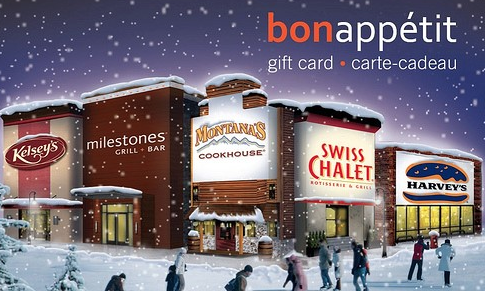 IMP has also donated a $15 Swiss Chalet, Montana's or Harvey's Gift Card.