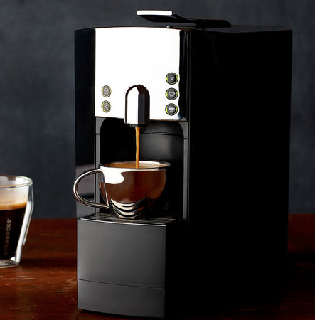 Starbucks has donated a Verismo Coffee Maker (so cute!) plus two packs of coffee pods. Retails $180 (plus HST)