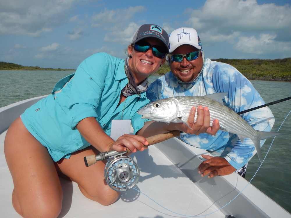 2014 TPST Tournament bonefish with Lacey