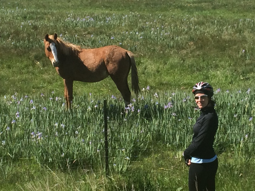 Jen and Mr. Ed