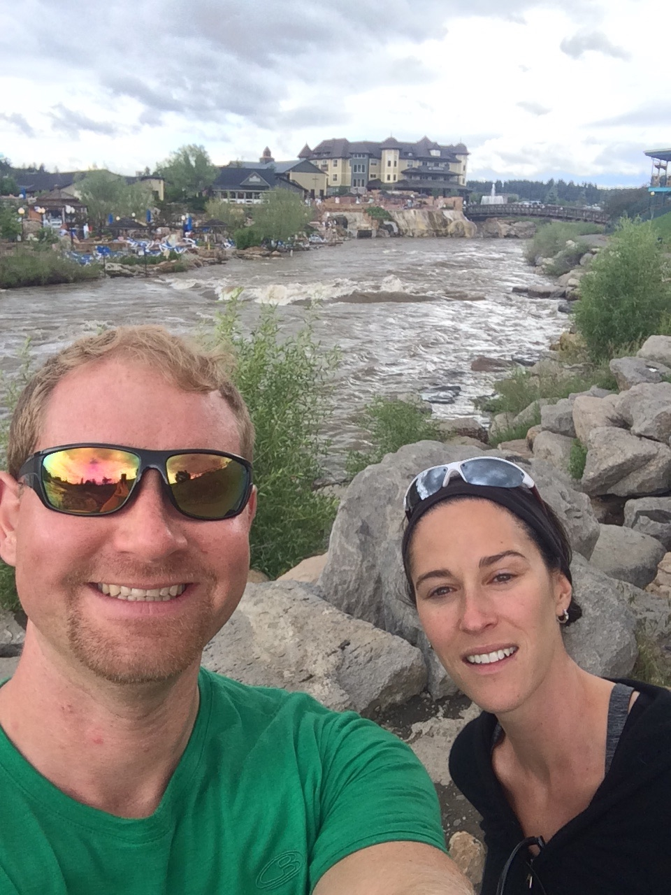 Jen and I exploring Pagosa