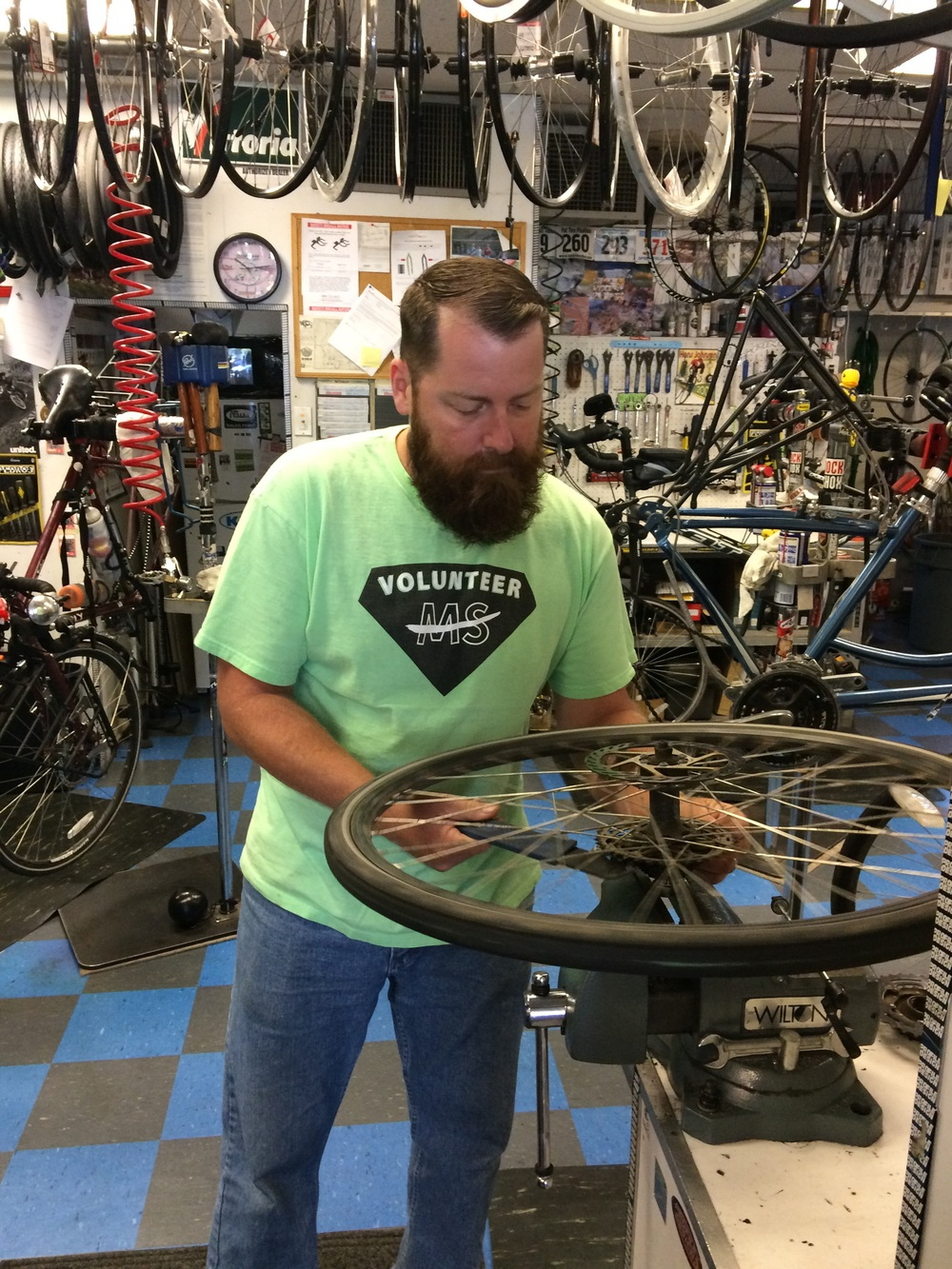 Sunshine bike shop