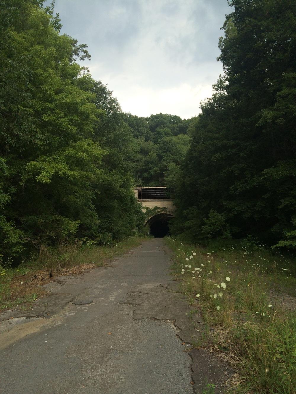 Abandoned PA Turnpike